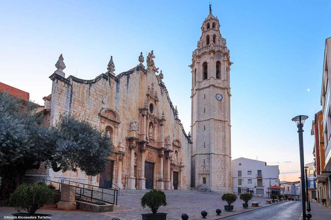 Iglesia Parroquial de San Juan Bautista y Torre Campanario