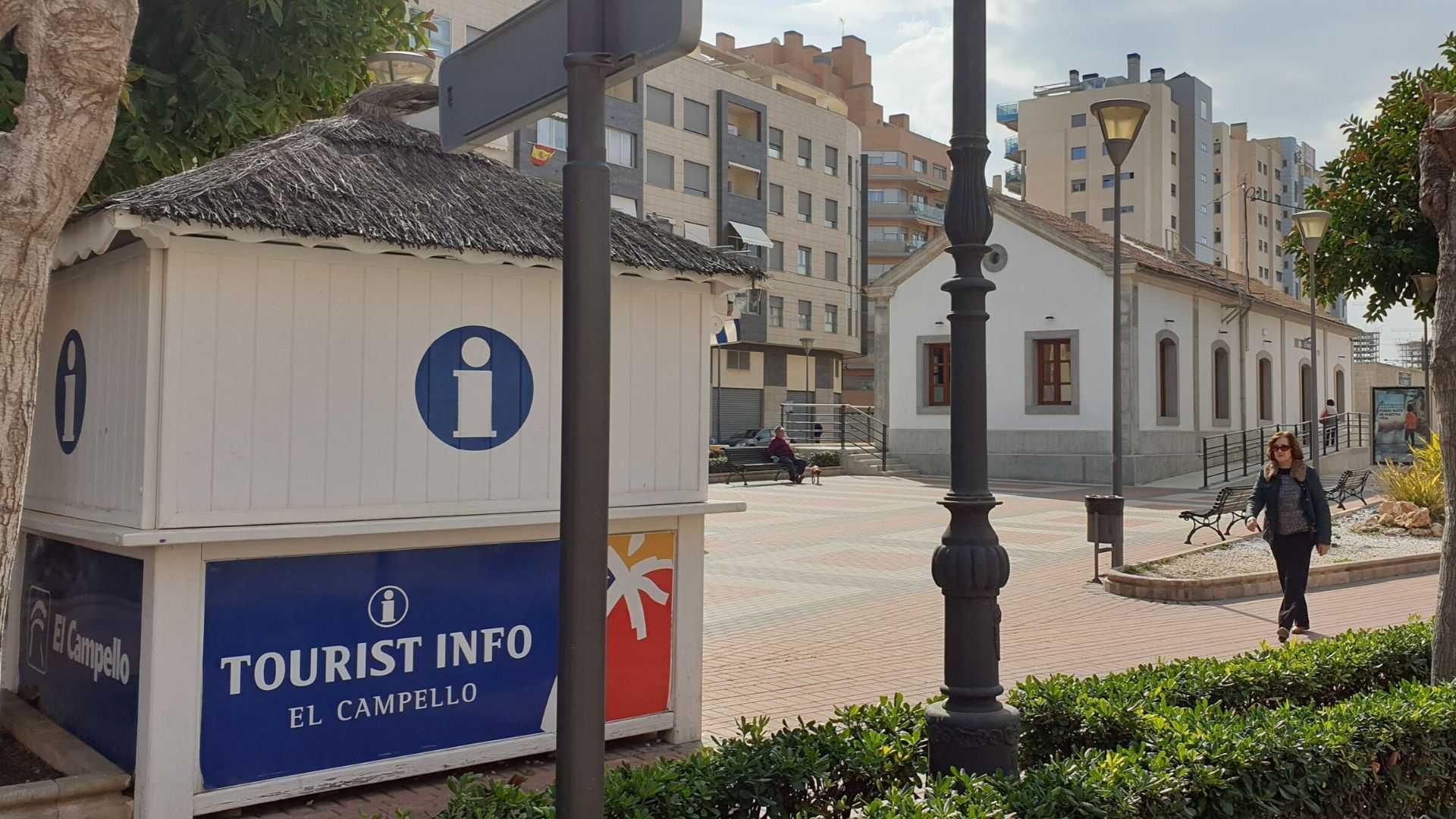 TOURIST INFO EL CAMPELLO - ESTACION FGV