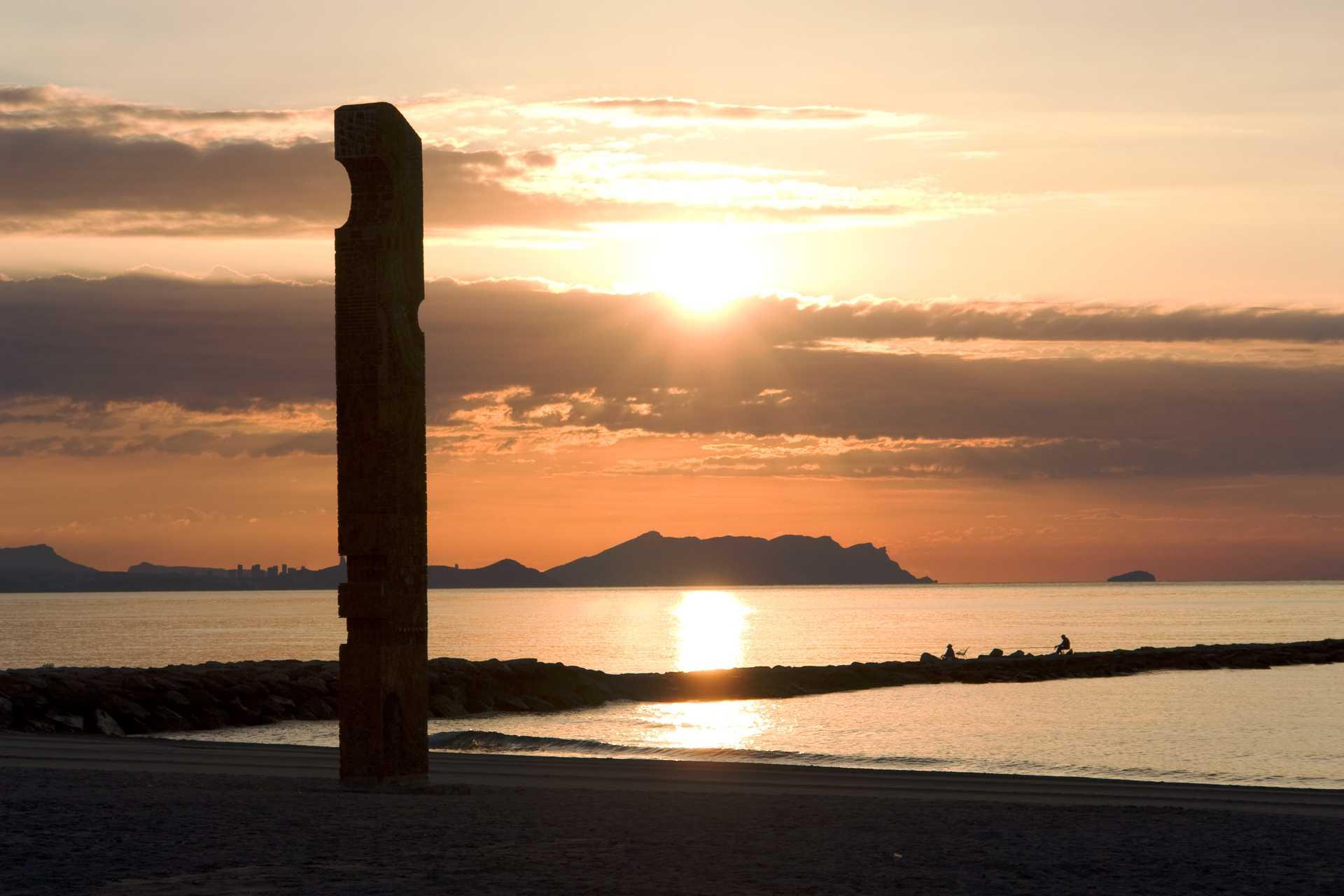 Denkmal des fischers