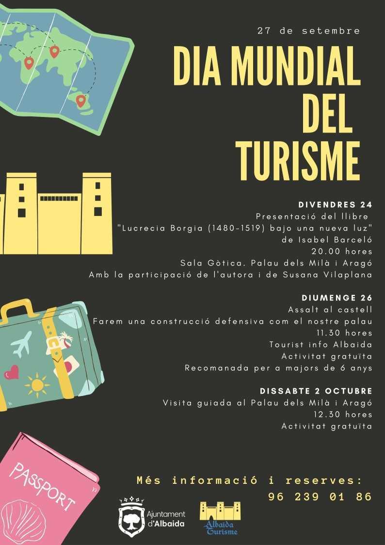 Día Mundial del Turismo 2021 - Albaida