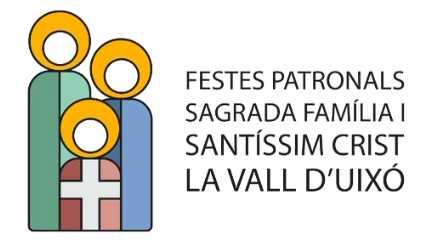 Feierlichkeiten zu Ehren der Sagrada Familia und des Santísimo Cristo