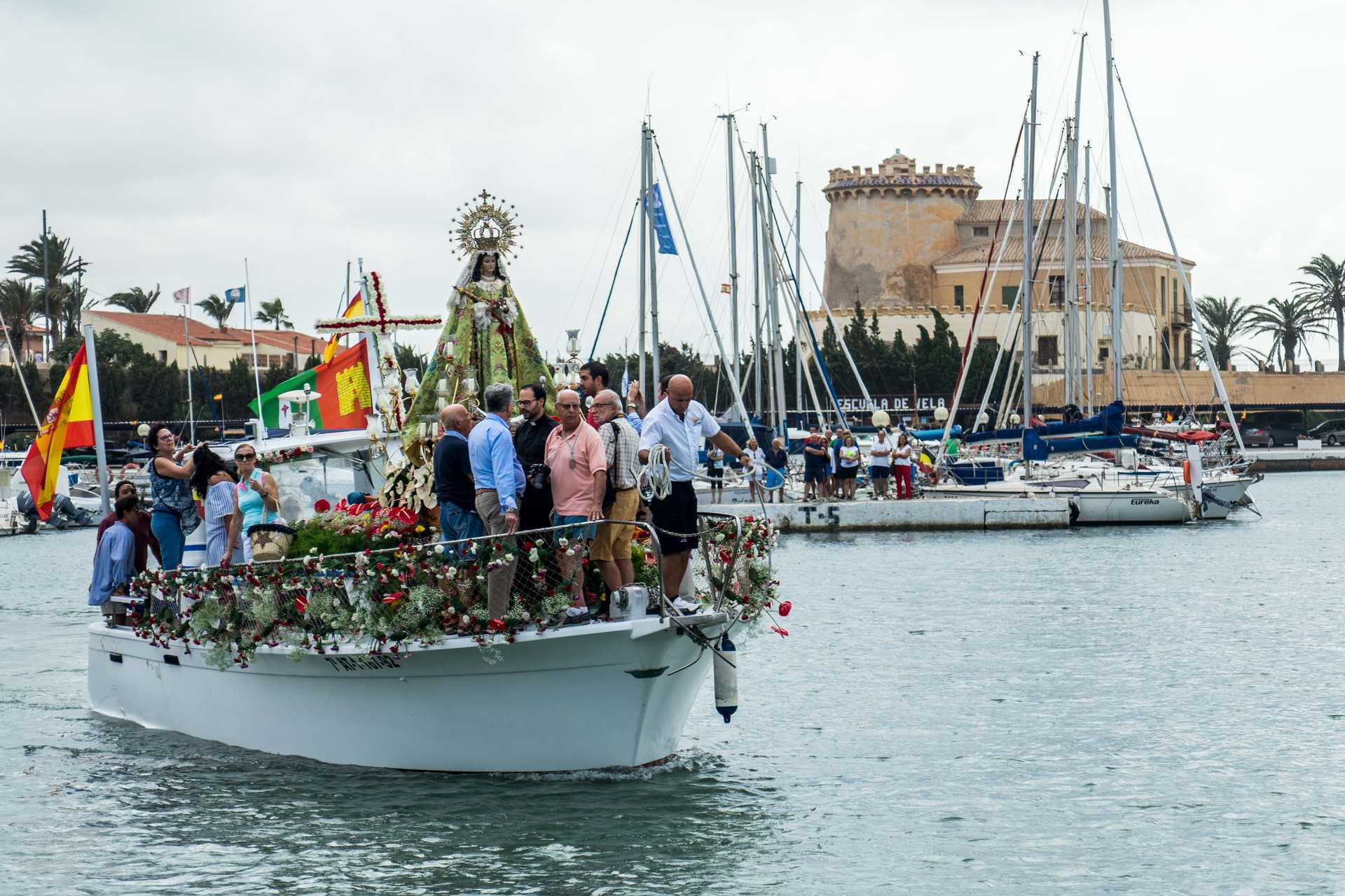 FESTIVITIES IN HONOUR OF VIRGEN DE LA ASUNCIÓN IN TORRE DE LA HORADADA