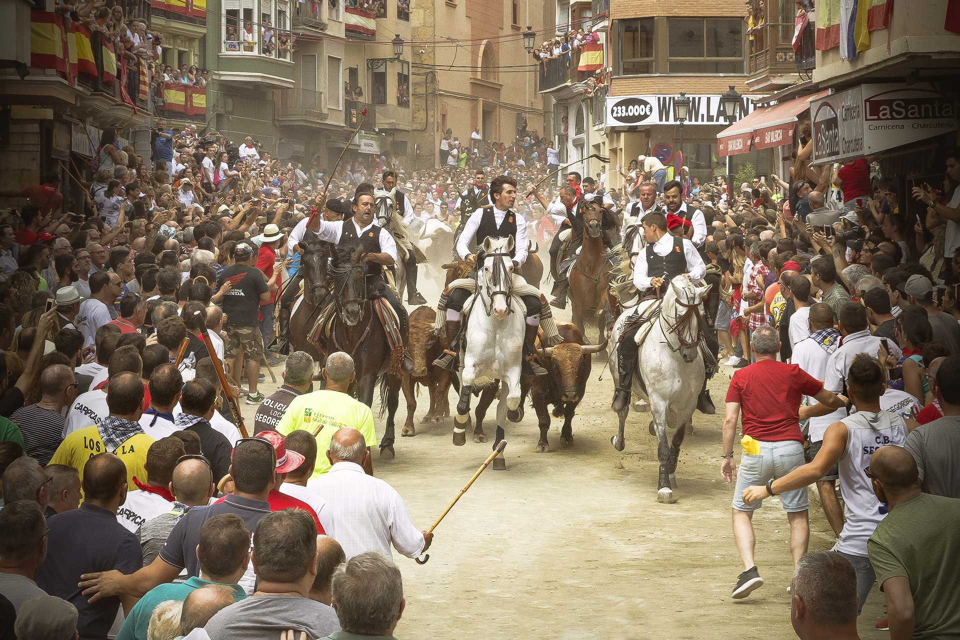 Entra de Toros y Caballos (Entrance of Bulls and Horses)