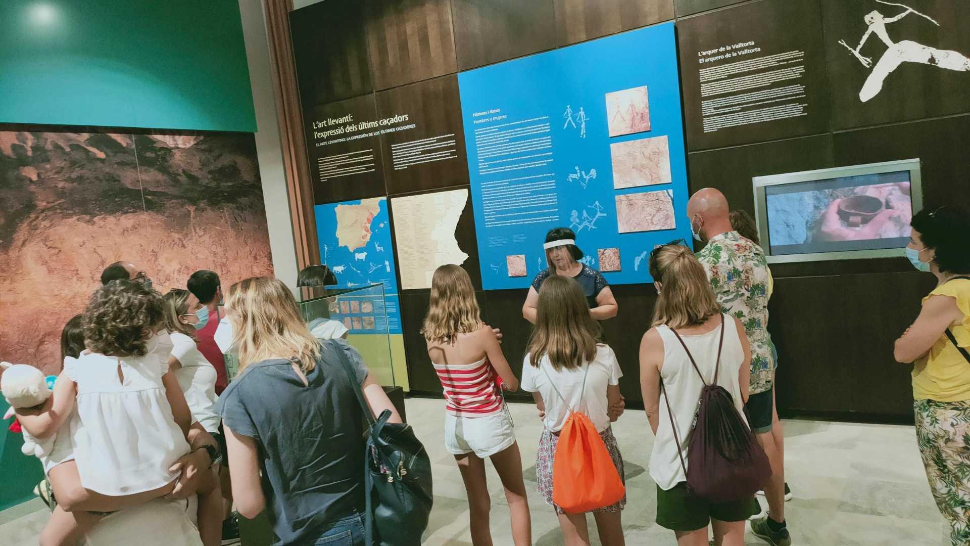 Visita guiada Museu de la Valltorta