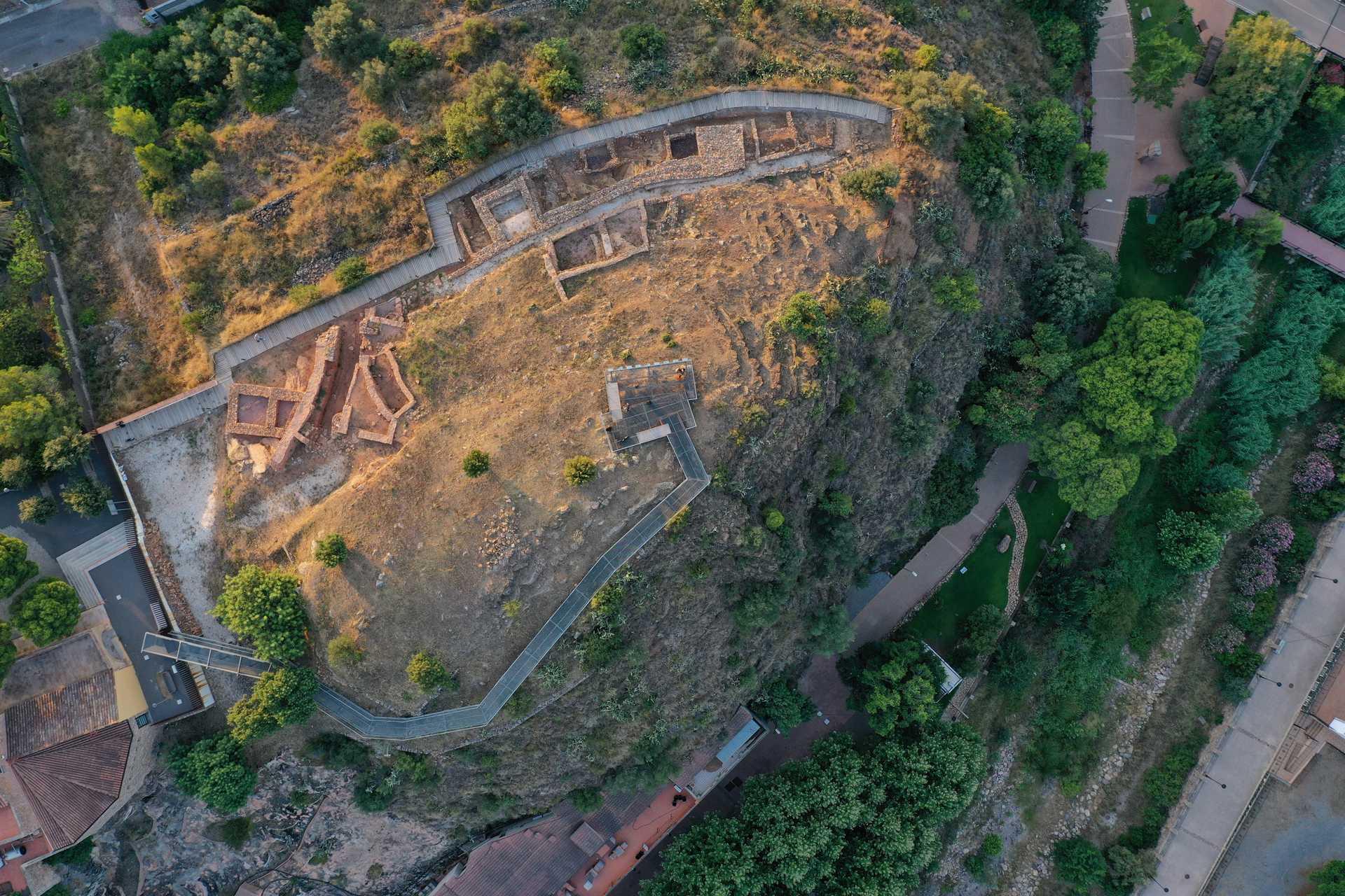 Yacimiento íbero-romano del Poblat Sant Josep