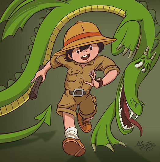 Ili Palmir et la quête du dragon