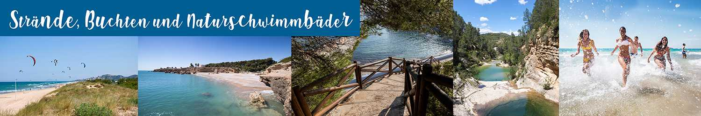 Strände, Buchten and naturschwimmbäder