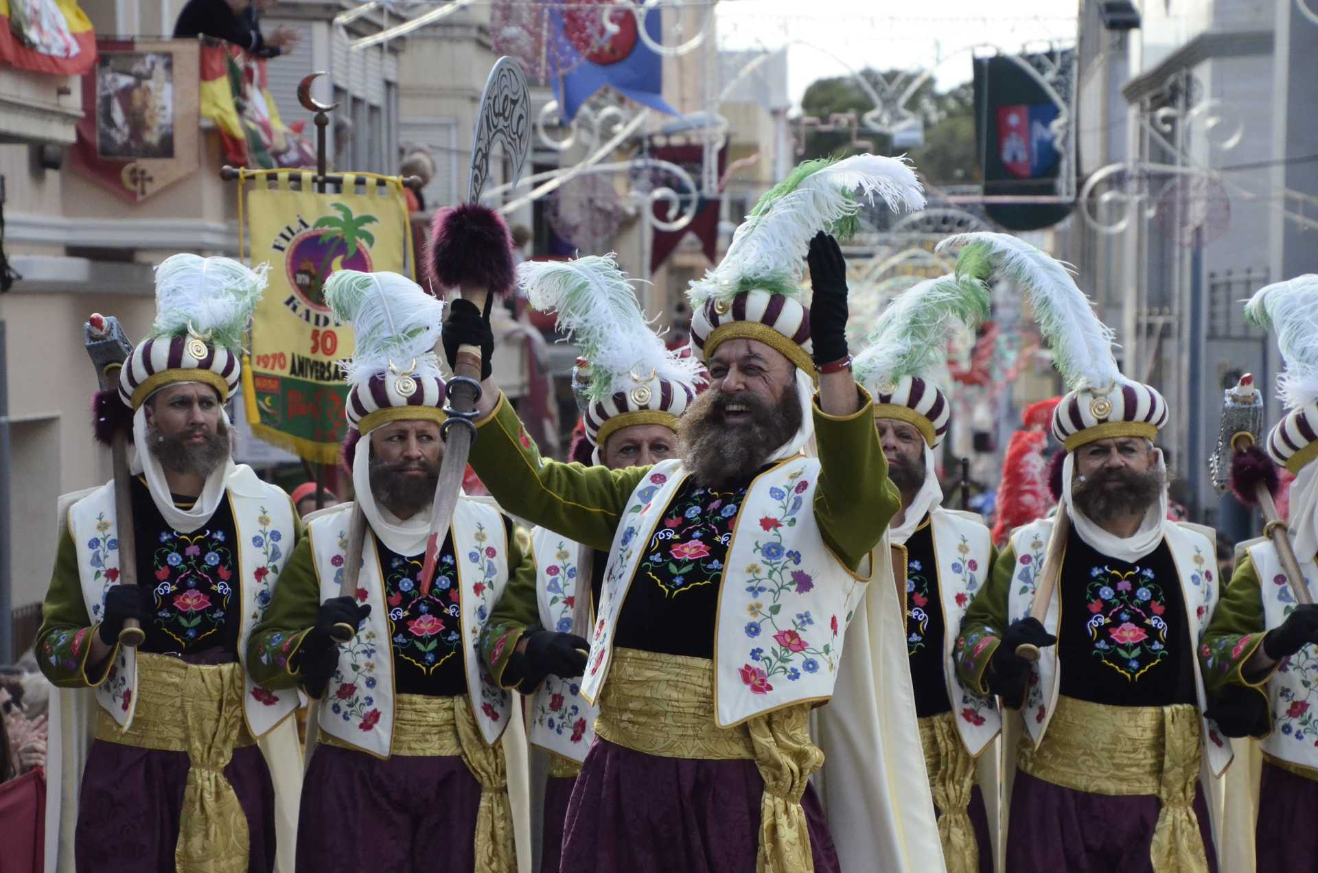 FESTIVAL OF MOORS AND CHRISTIANS IN HONOUR OF SAINT BONIFACIO