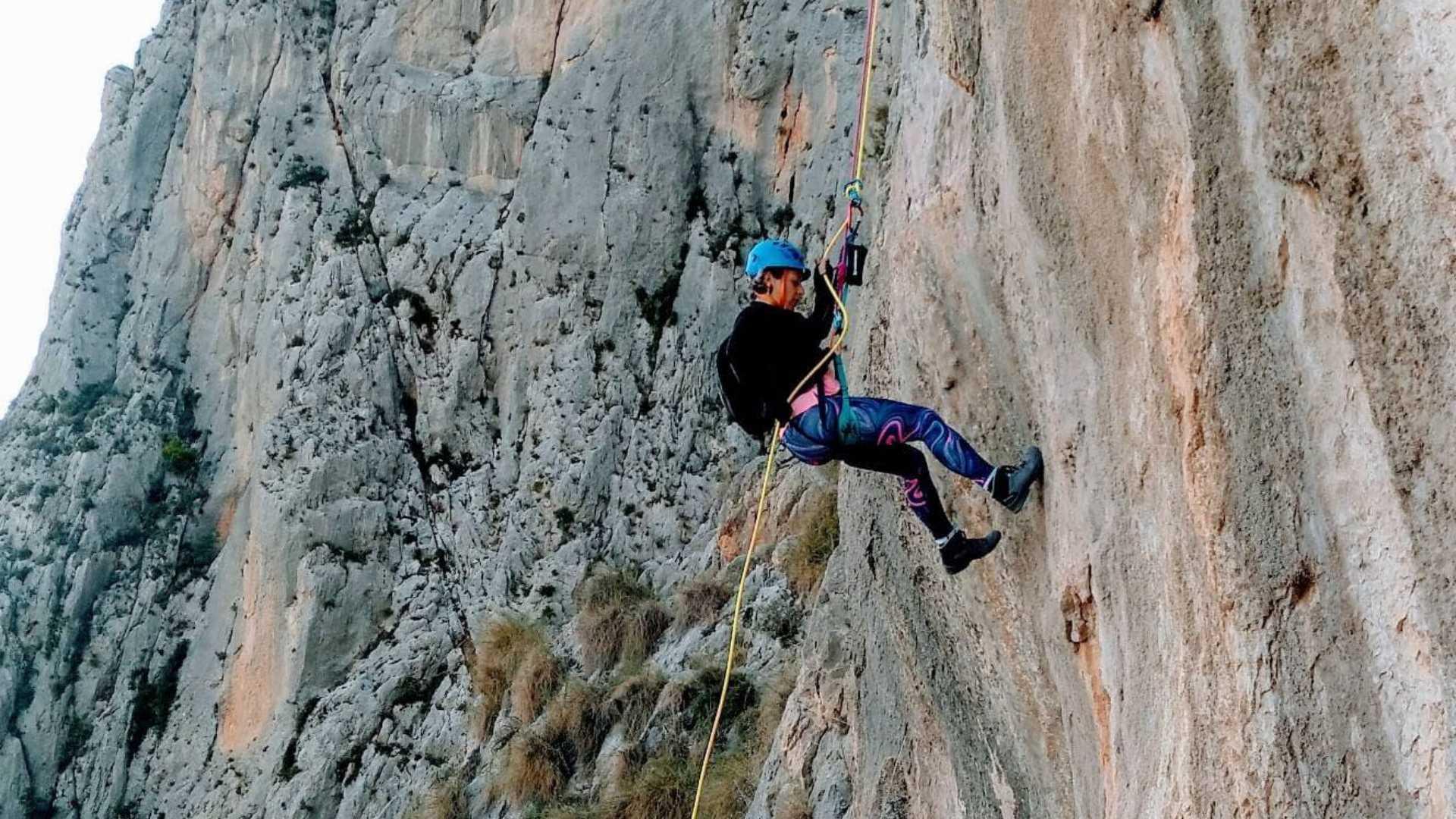 Klettersteig El Ponoig