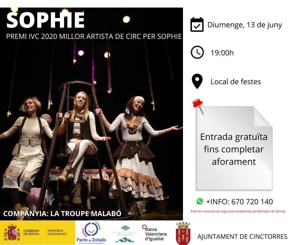Actuació de Circ: Sophi Circ