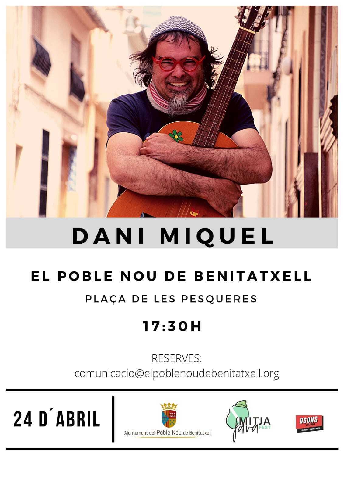 Concert Dani Miquel