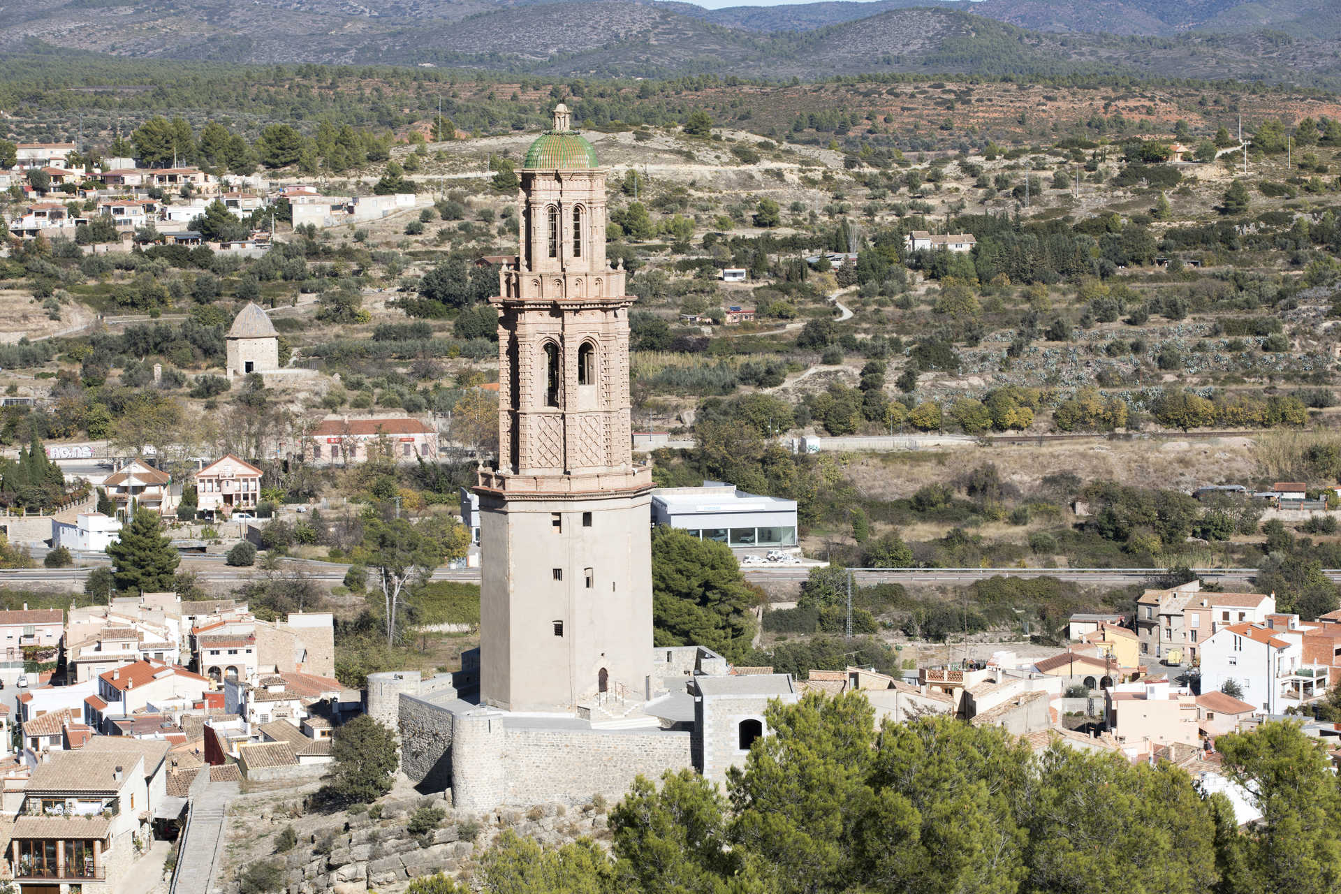 Mudejar Bell Tower (The Alcudia)