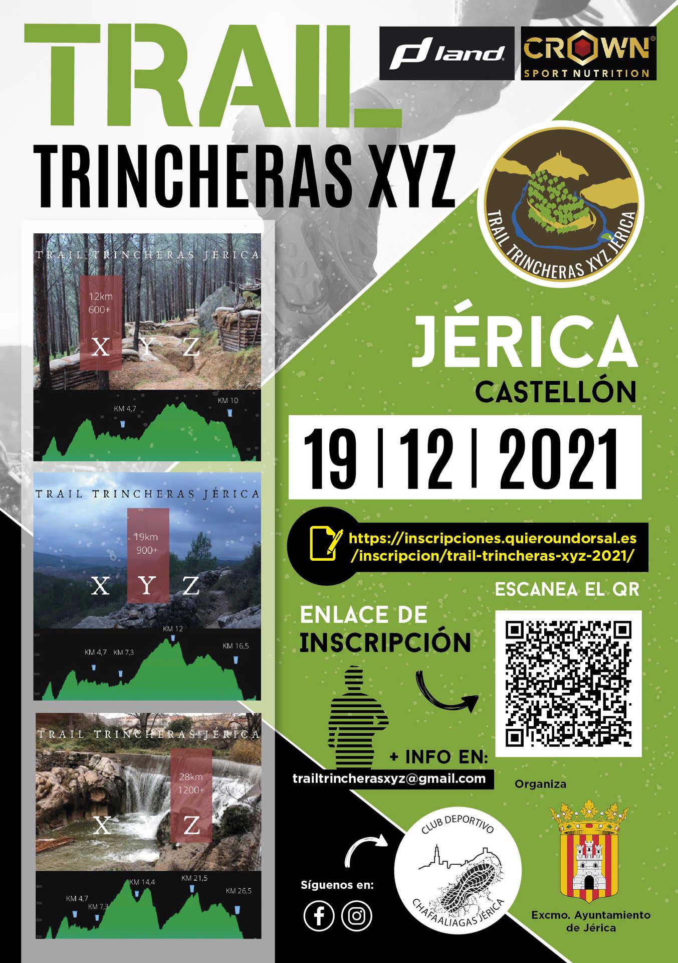 Trail trincheras Jerica 2021