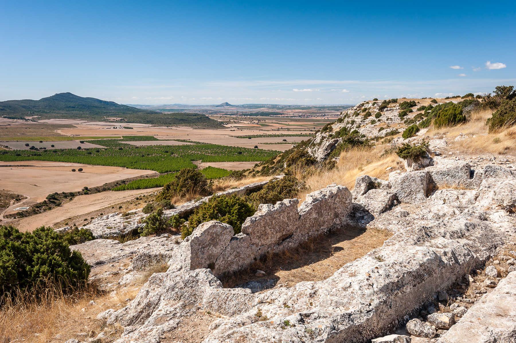 Poblado ibero Castellar de Meca en Ayora