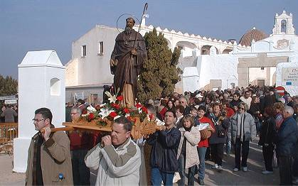 Festivity of San Sebastián and San Antonio Abad