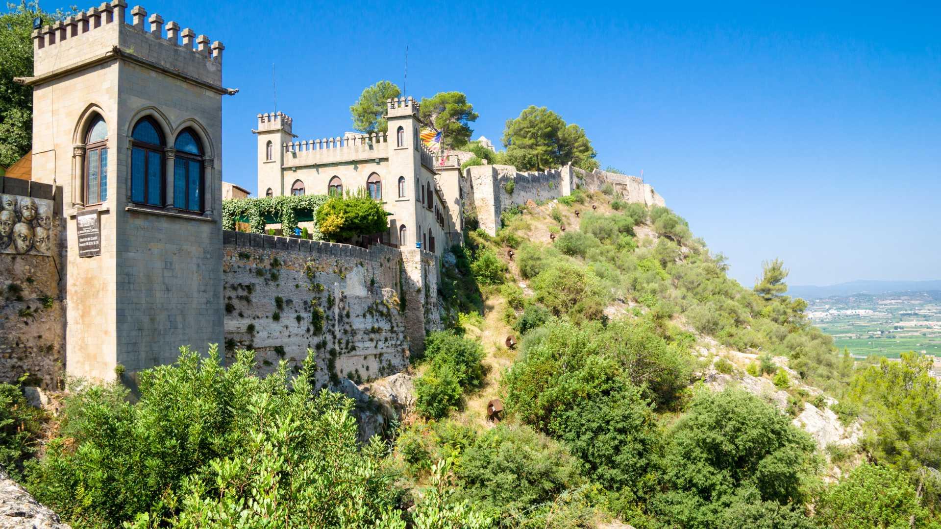 Die Burg von Xàtiva