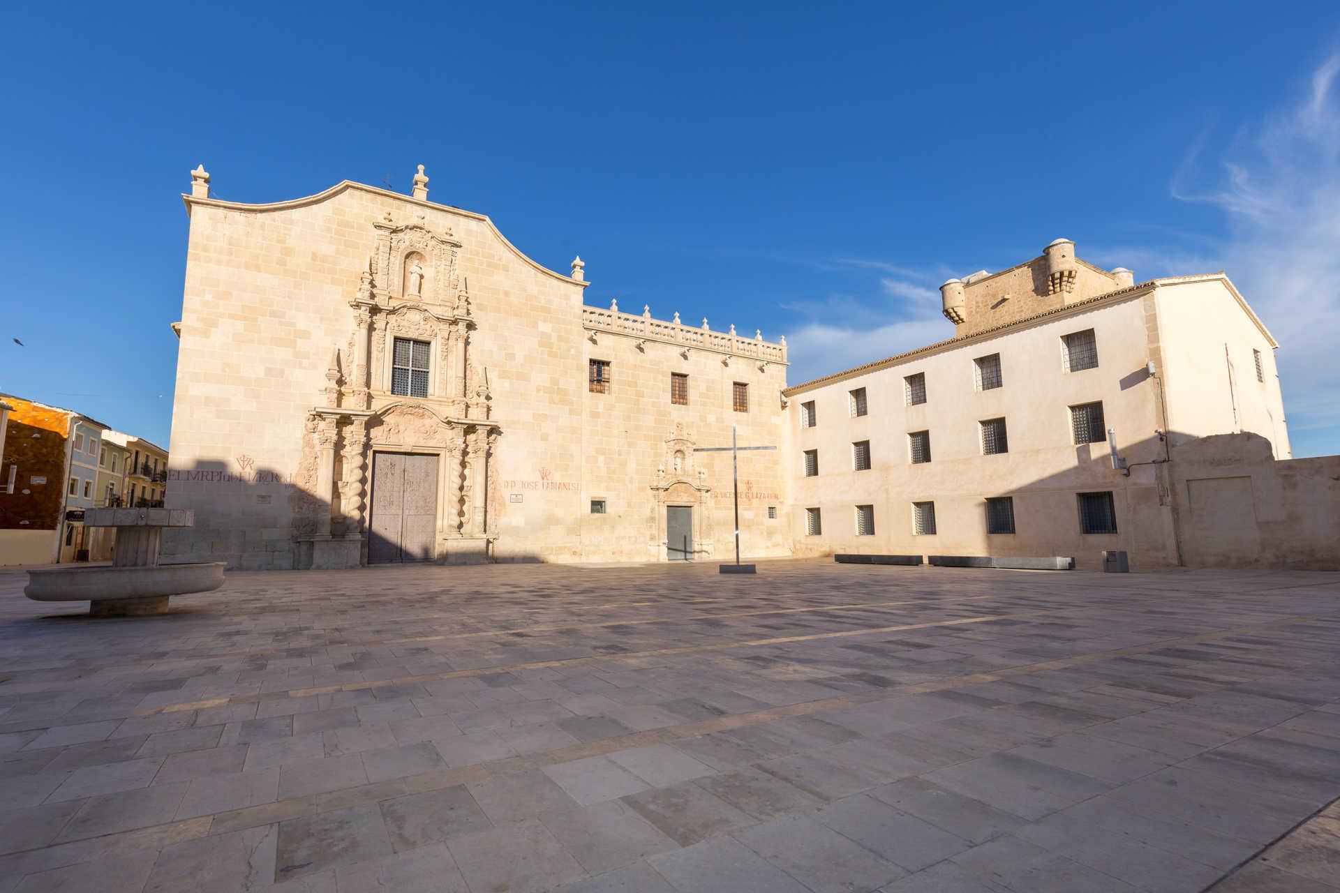 The Monastery Of The Santa Faz