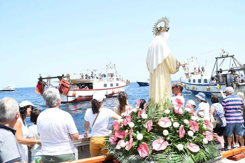 FEAST DAY OF VIRGEN DEL CARMEN