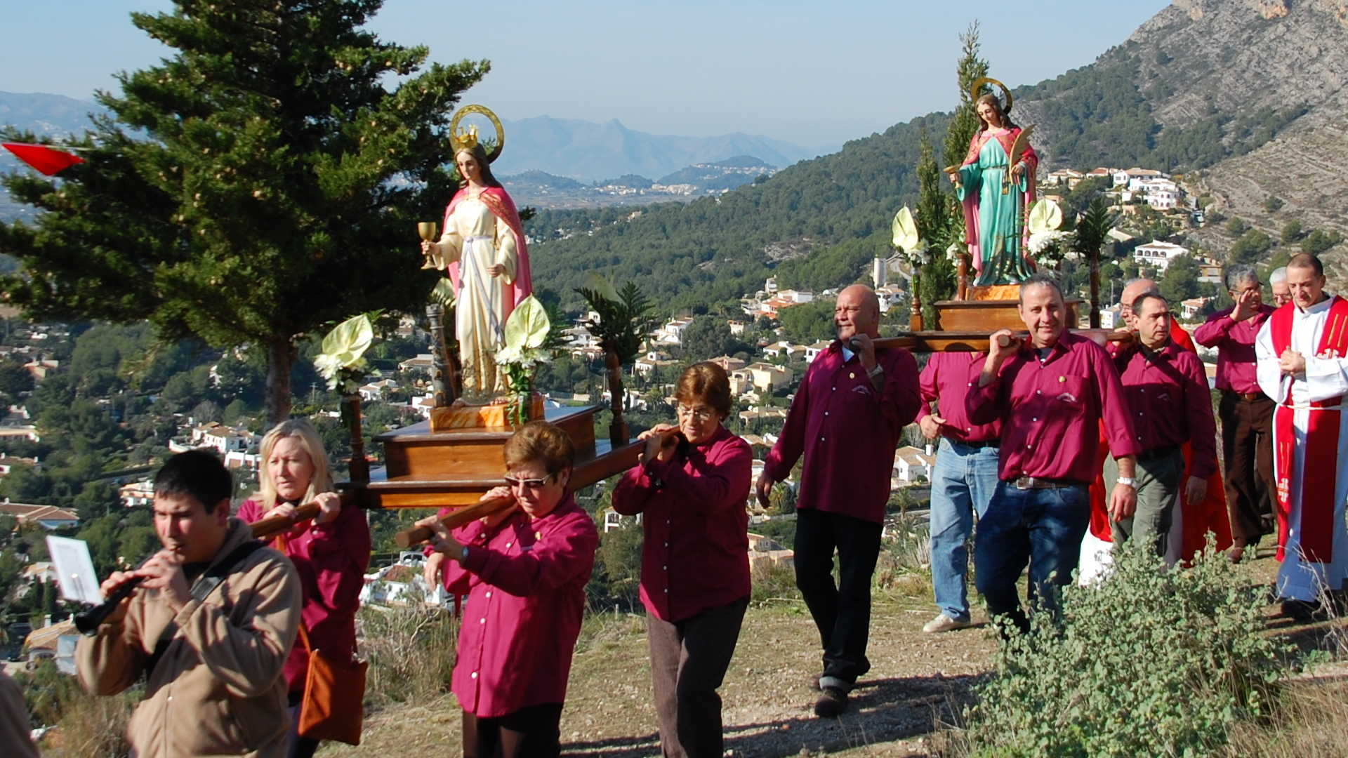 FEAST OF SANTA LLÚCIA