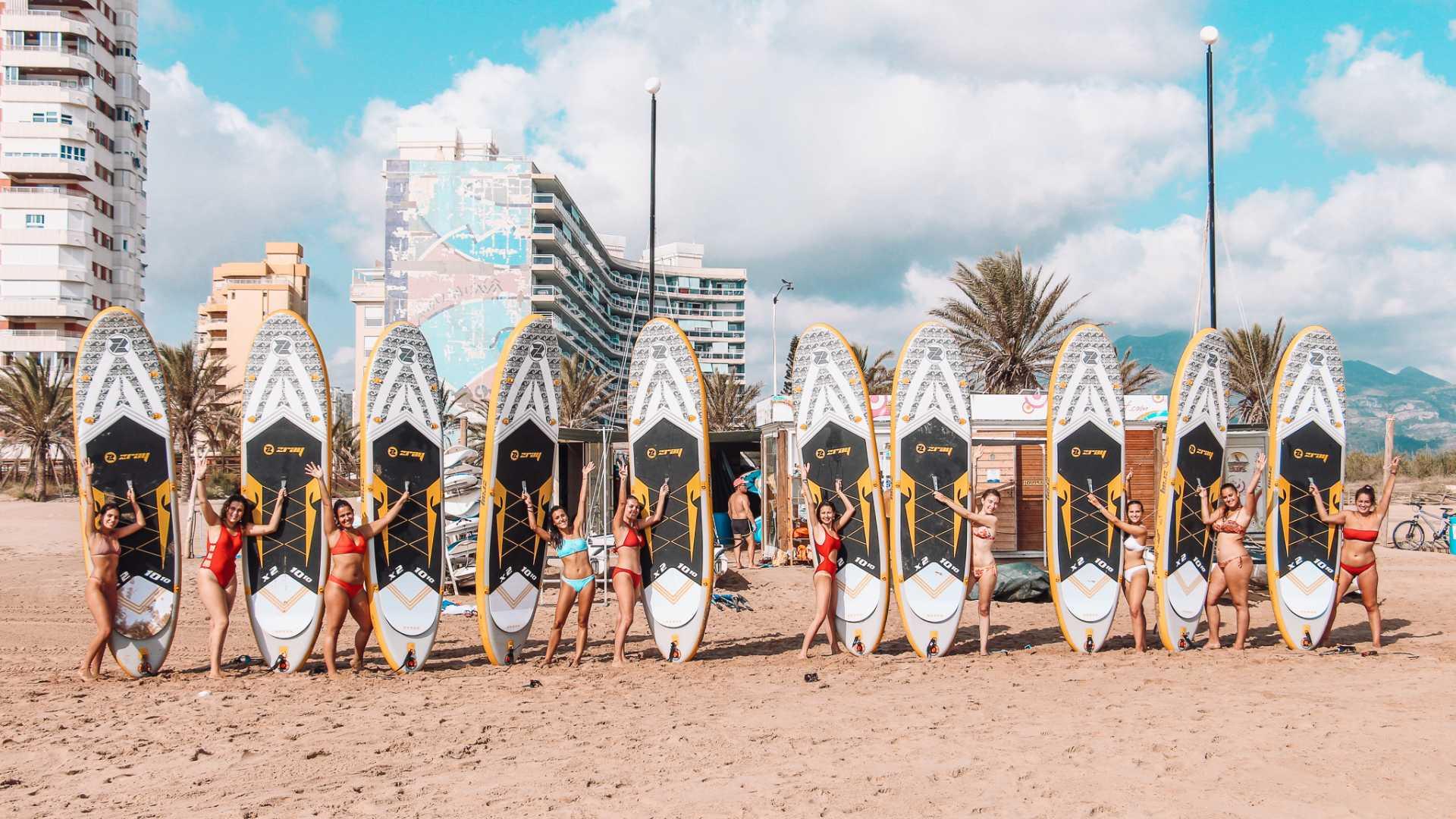 escuela surf gandia