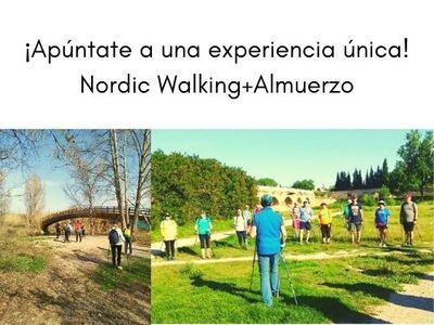 Nordic walking + almuerzo