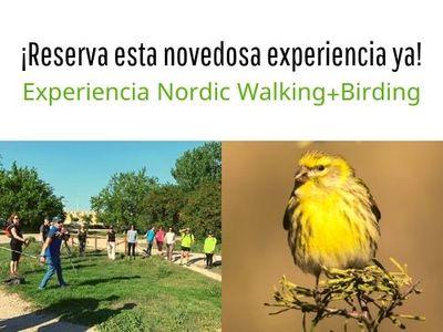 Nordic walking + birding