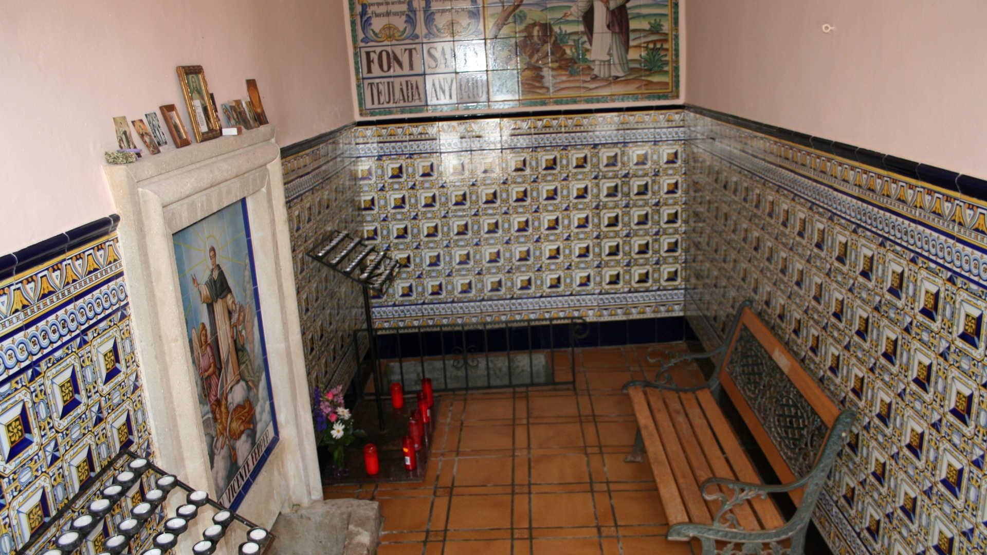 Chapelle de la Font Santa