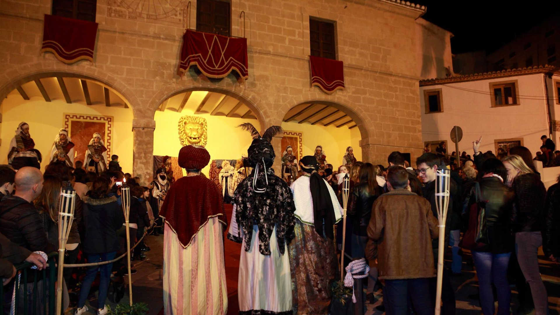 THREE KINGS PARADE IN TEULADA MORAIRA