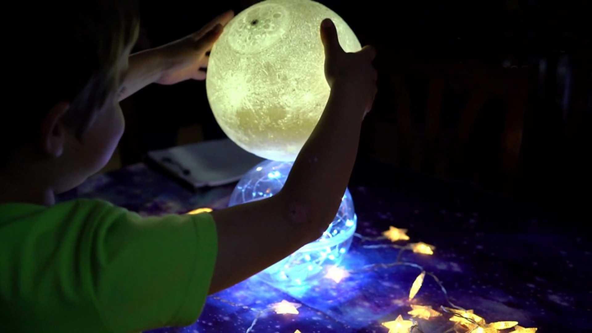 El sistema solar con los 5 sentidos