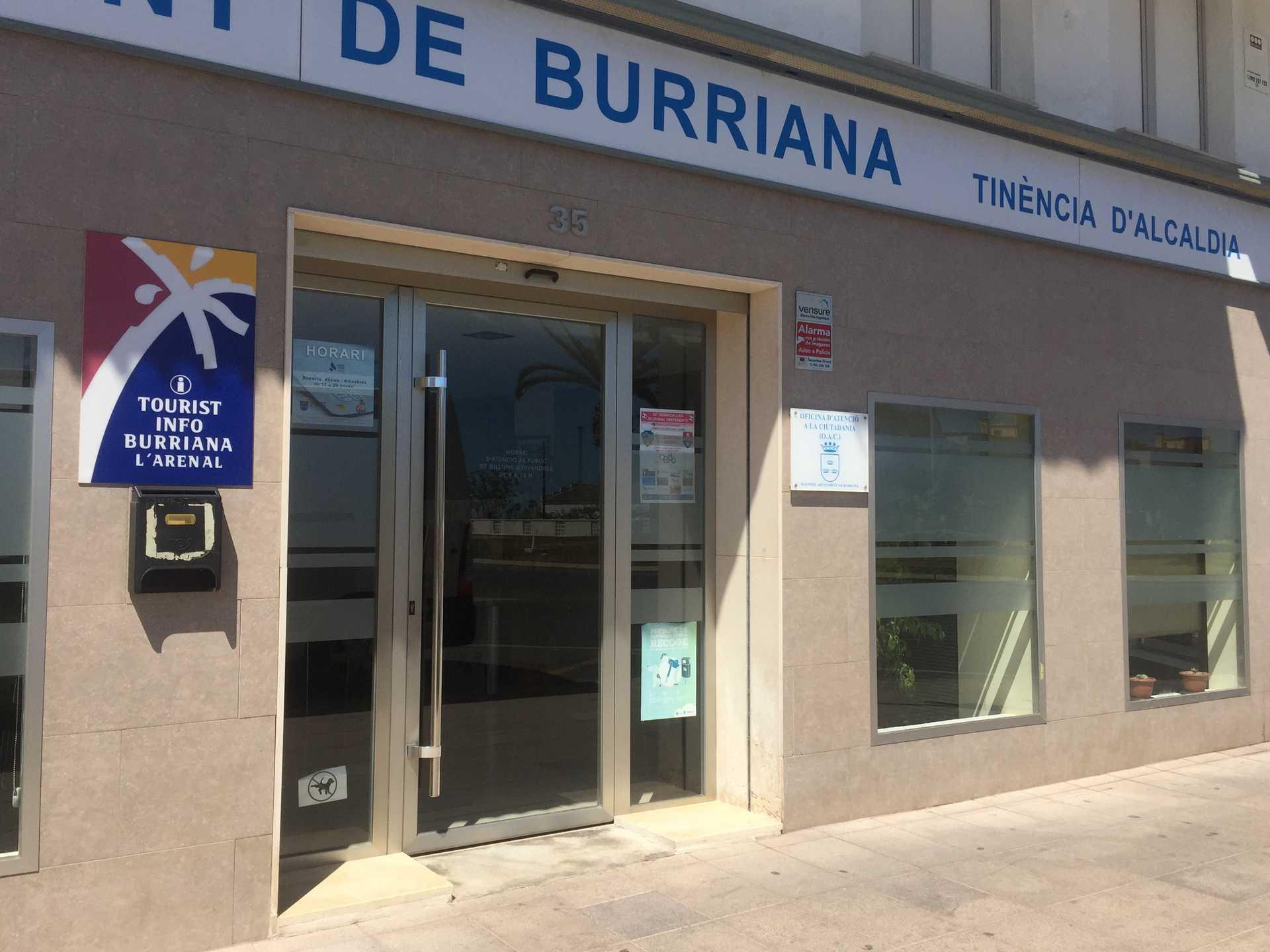 TOURIST INFO BURRIANA - L'ARENAL