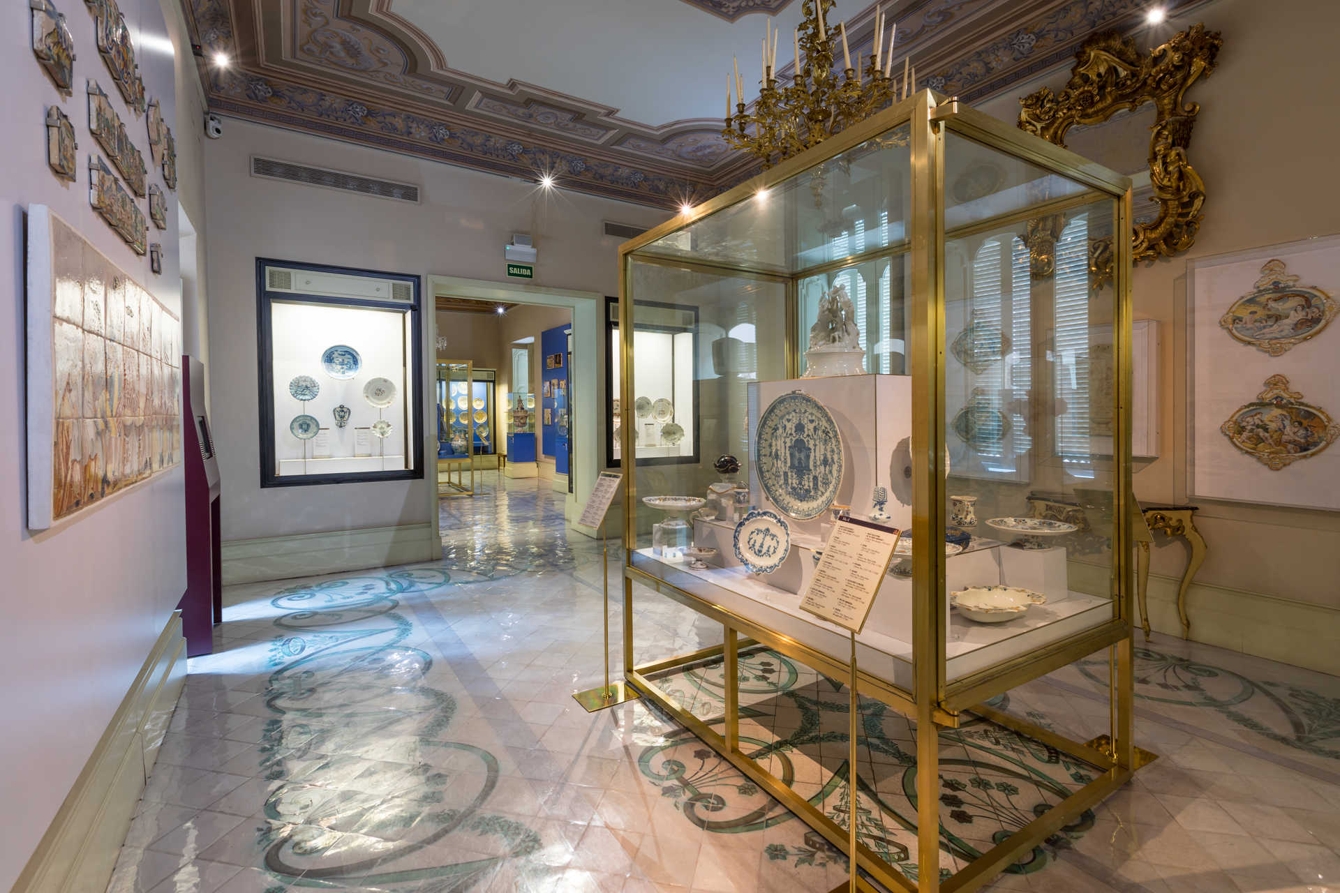 The National Ceramics And Sumptuary Arts Museum González Martí