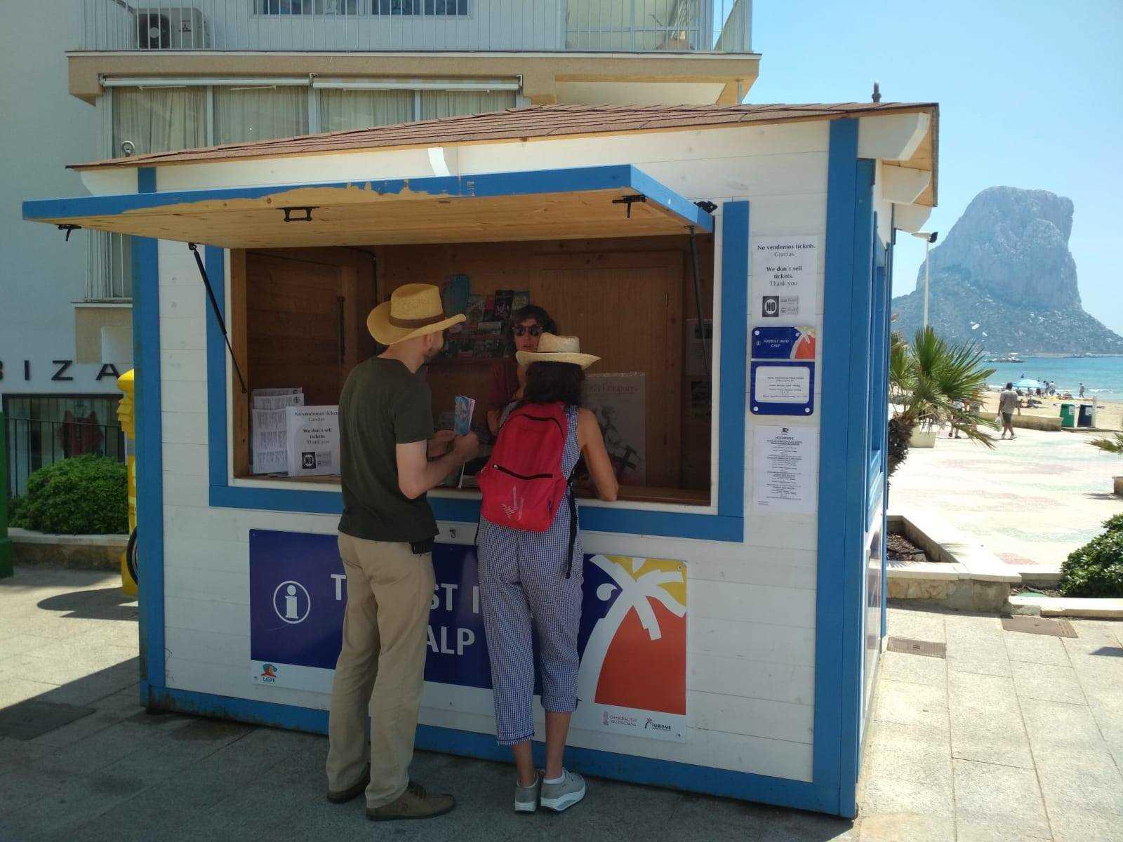 TOURIST INFO CALPE - ARENAL BOL