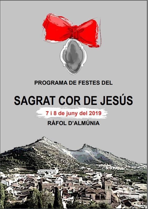 Fiestas del Sagrado Corazón de Jesús en Ràfol d'Almunia