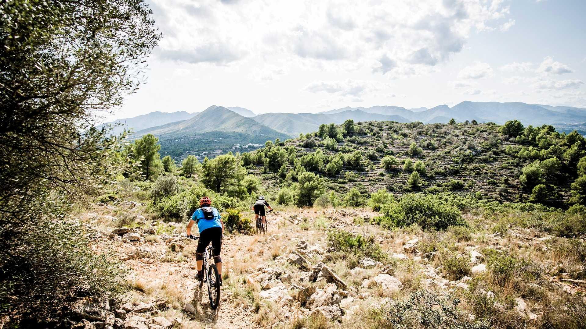 Balades VTT en montagne