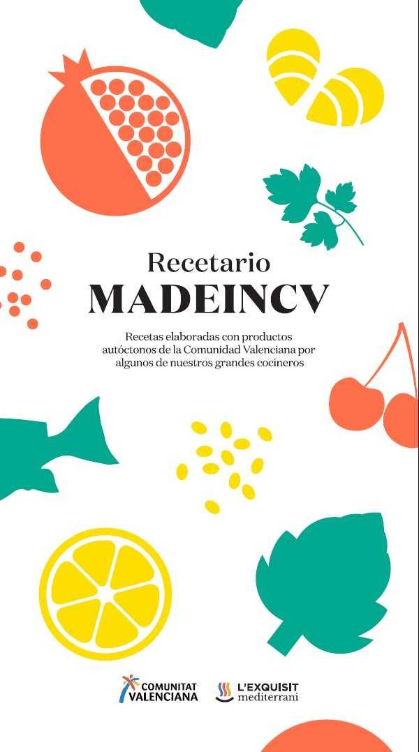 Recetario MADEINCV