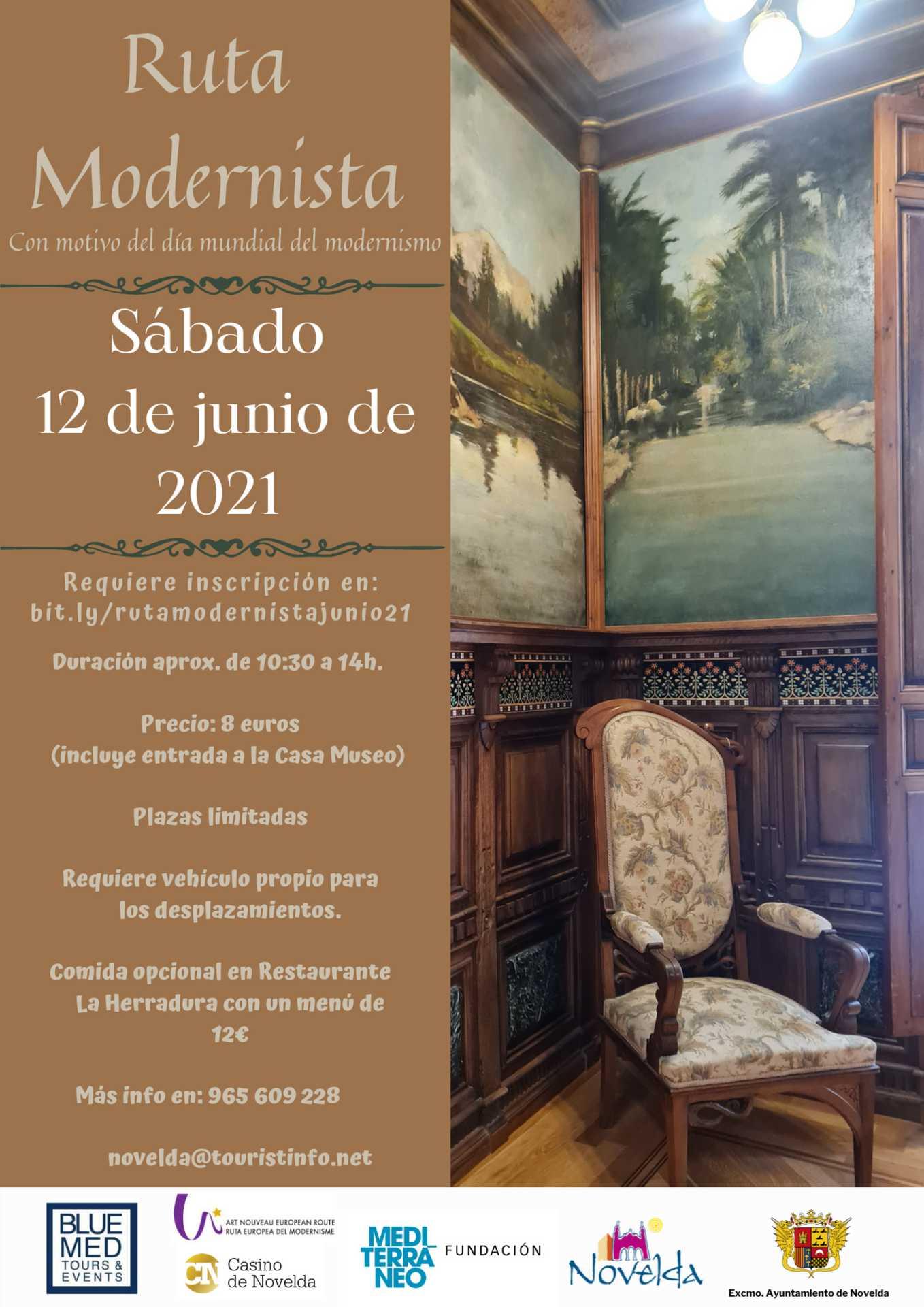 Ruta modernista 12 de junio 2021