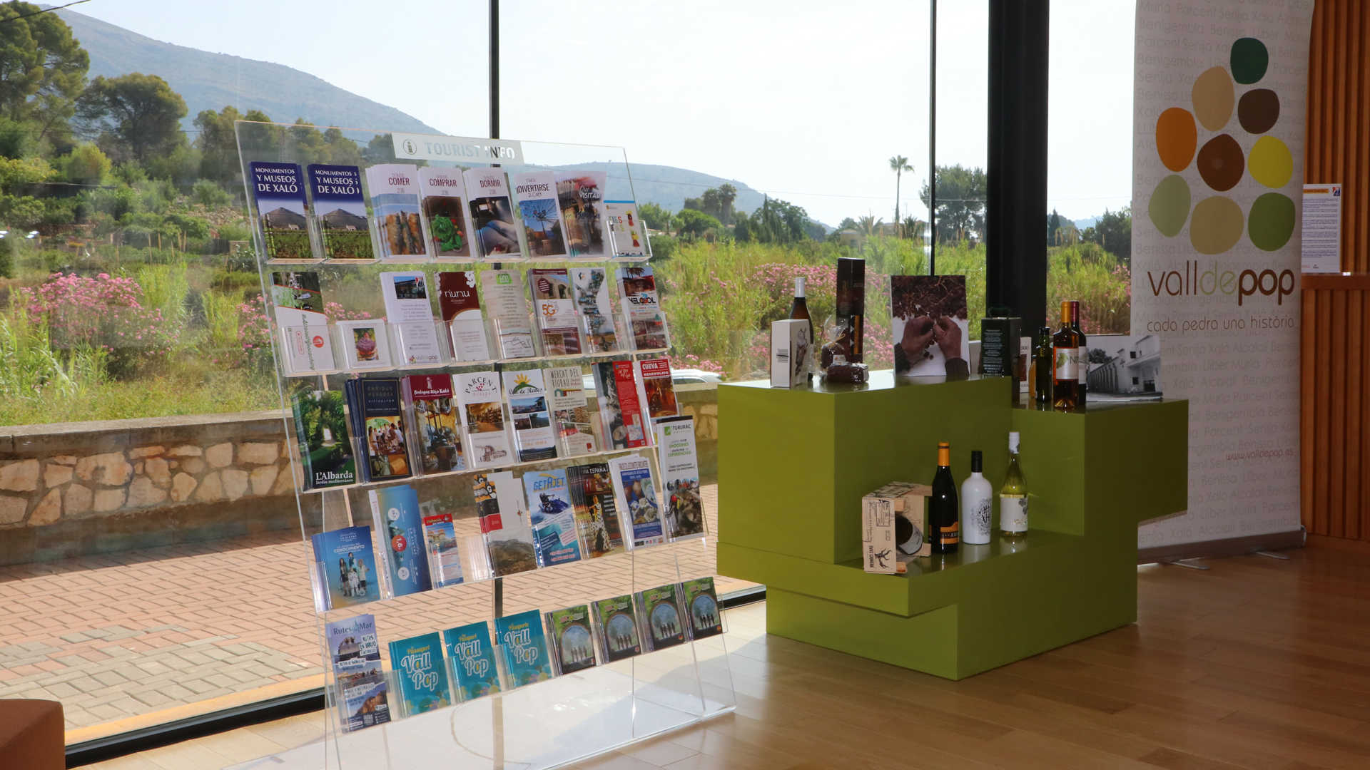 TOURIST INFO VALL DE POP
