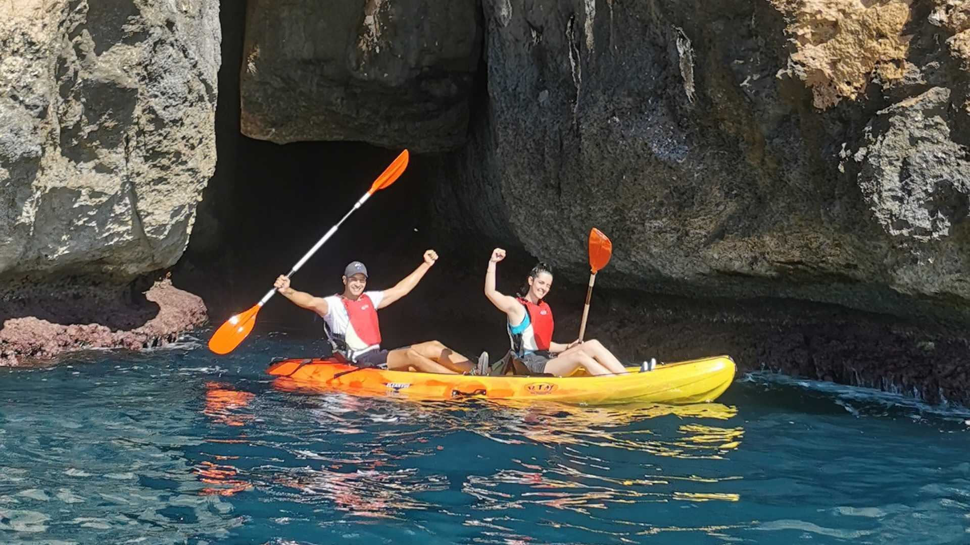 Kayak de Moraira a Benitachell