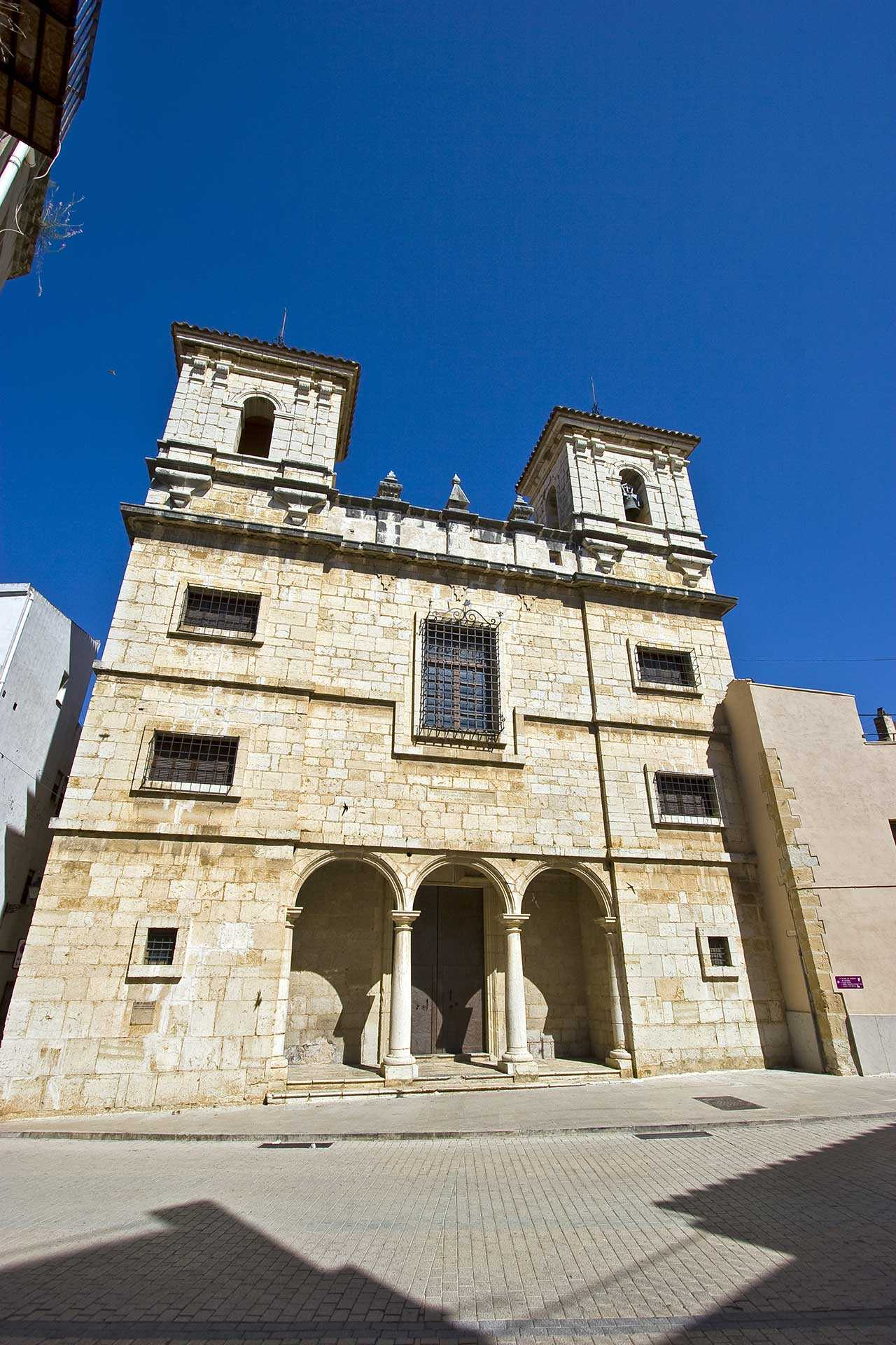 The Church and Convent of the Monjas Agustinas