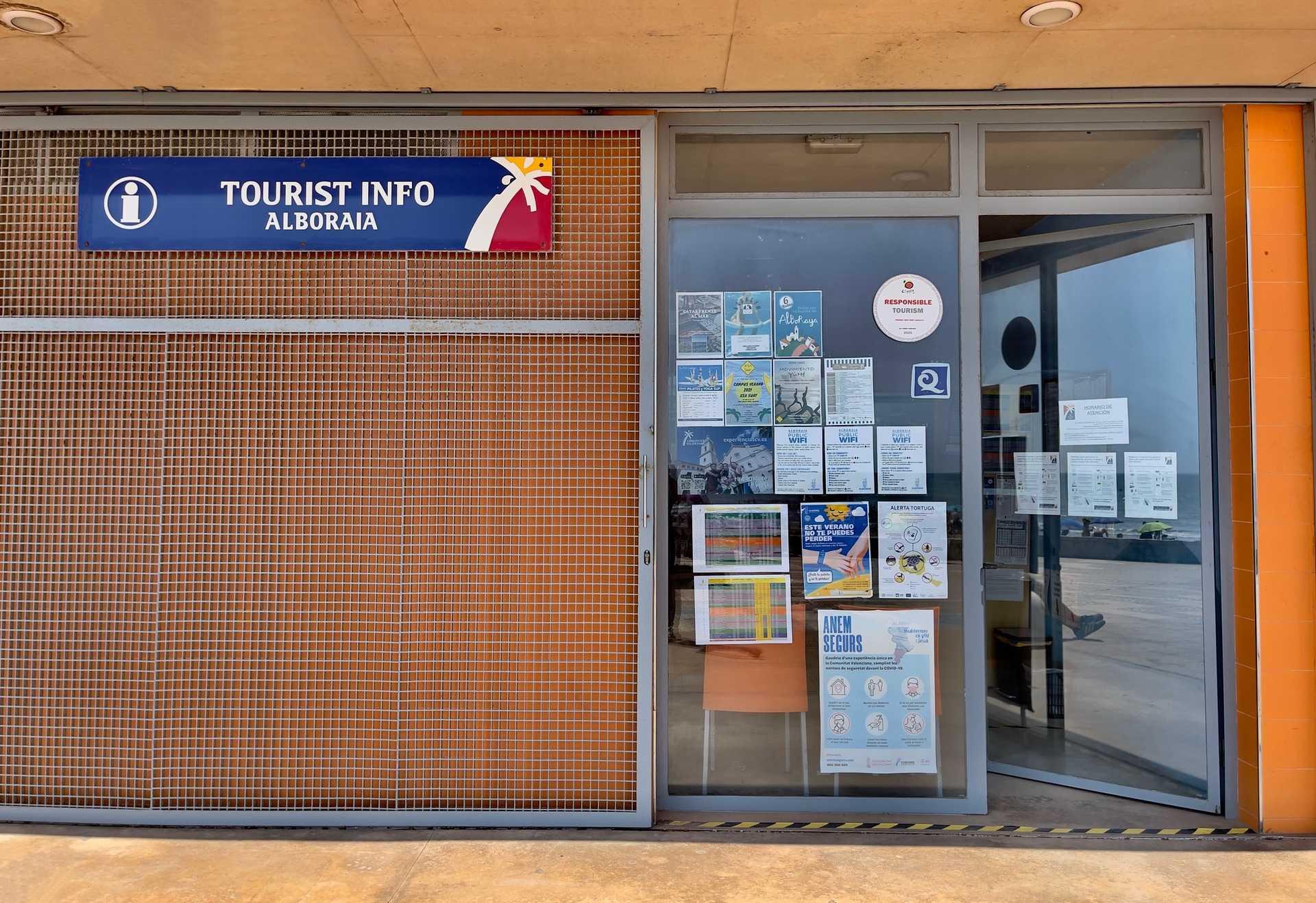 TOURIST INFO ALBORAYA -  PORT SAPLAYA
