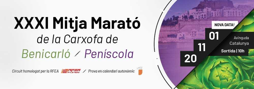 XXXI Mitja Marató de la Carxofa Benicarló-Peníscola