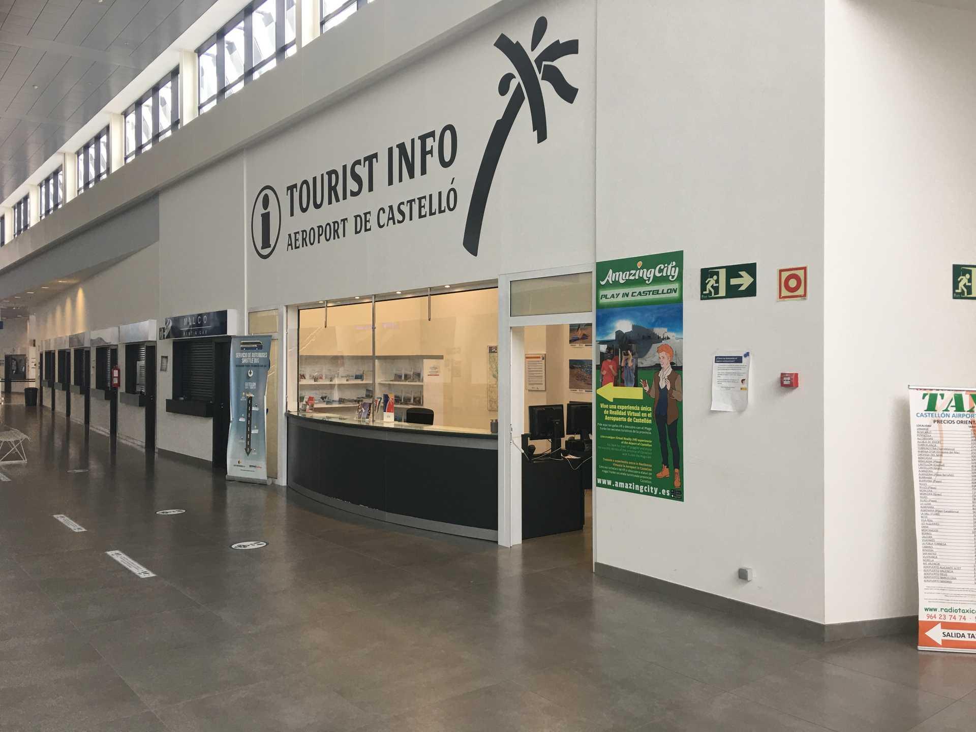 TOURIST INFO AEROPORT DE CASTELLÓ