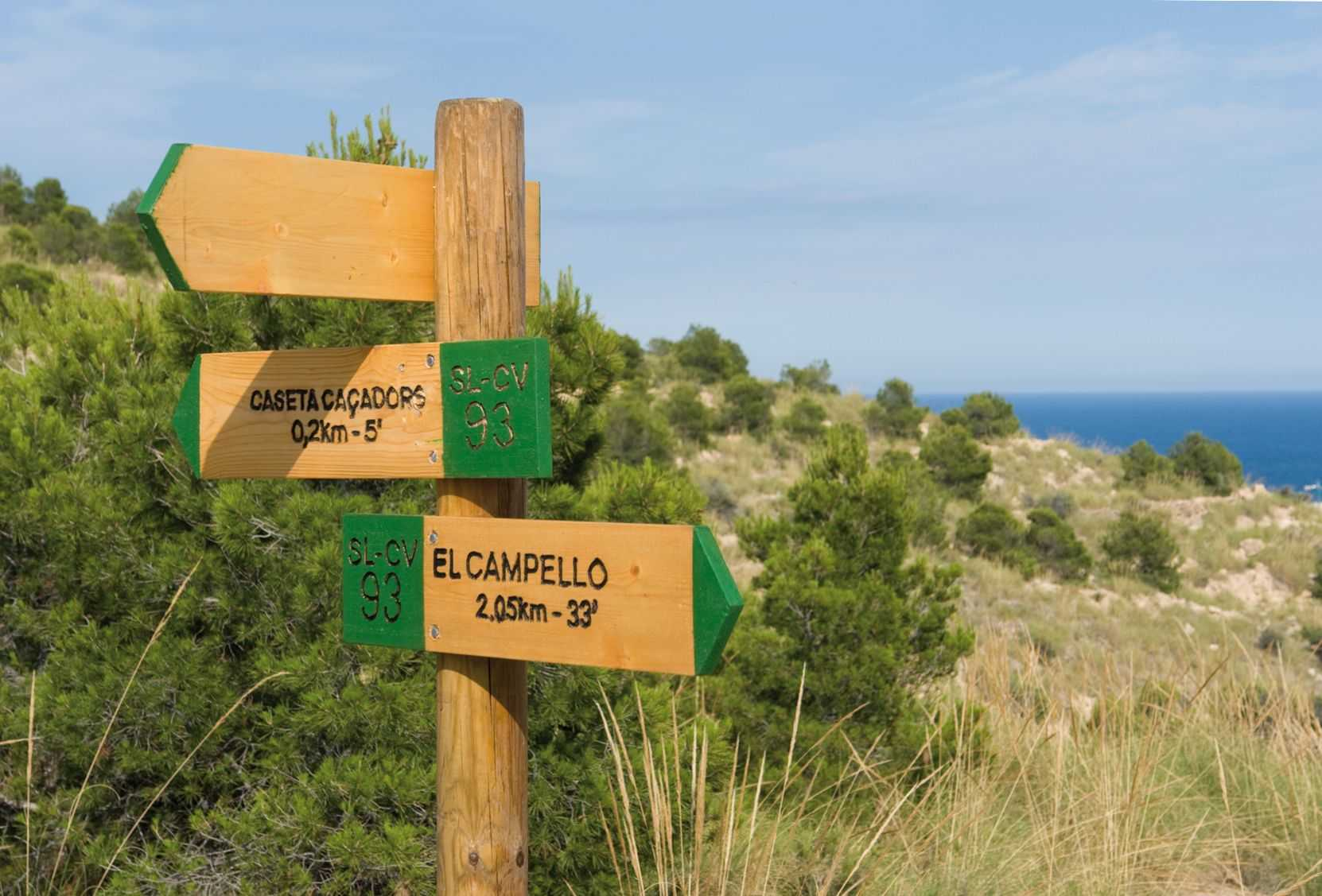 NATURAL ROUTES OF EL CAMPELLO
