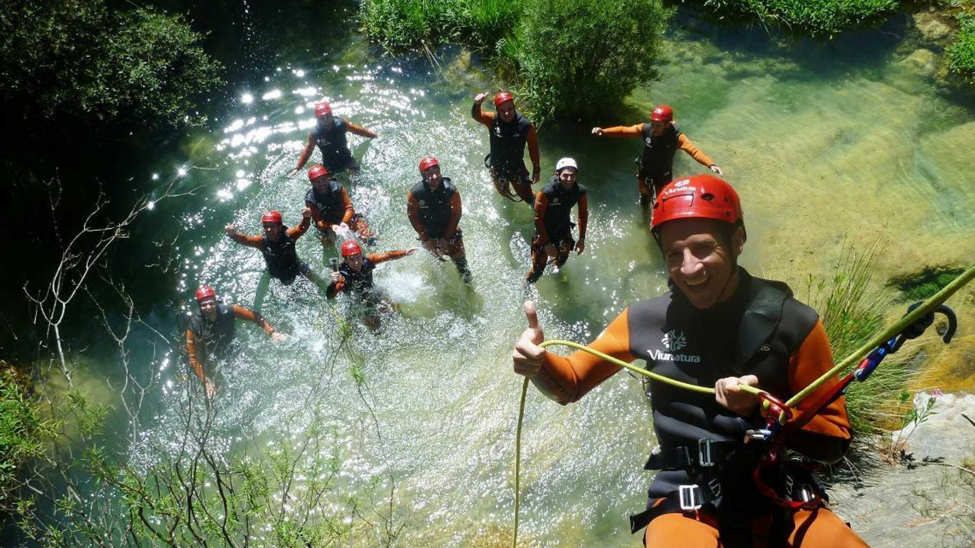 Canyoning am Wasser