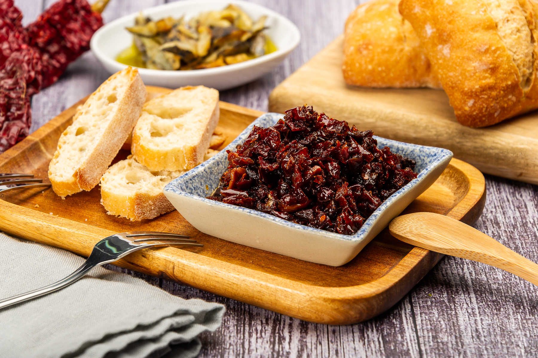Los ingredientes de la pericana alcoyana