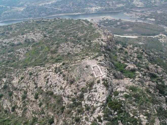 Muralles del Castellar de Morera