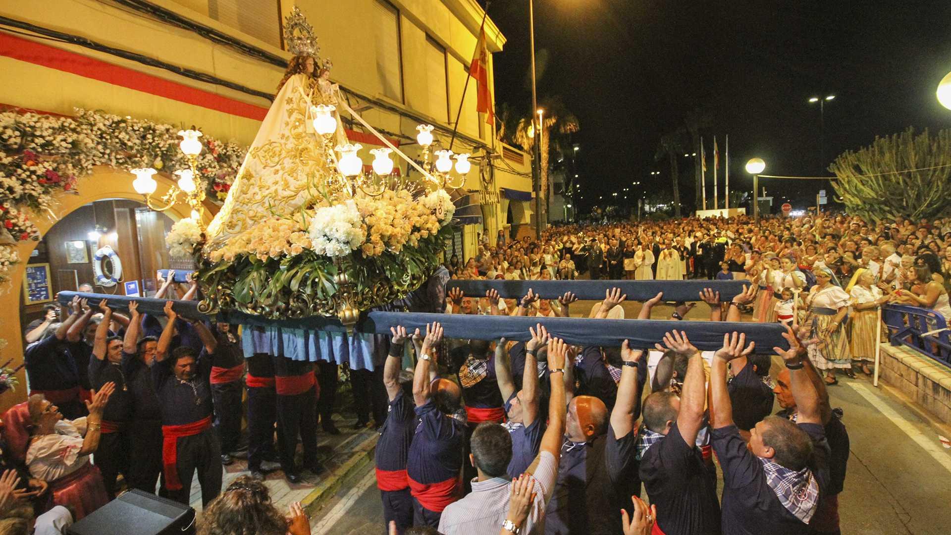 Festivities in honour of the Virgen del Carmen