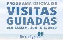 Programa Oficial de Visitas Guiadas en Benicàssim 2018