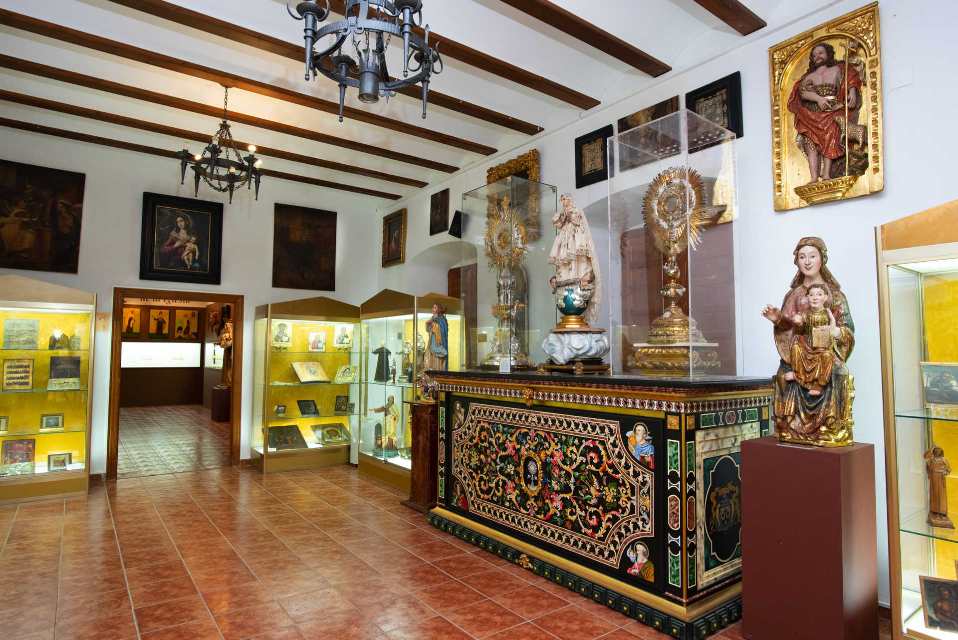 Museum And Church Of The Padres Carmelitas