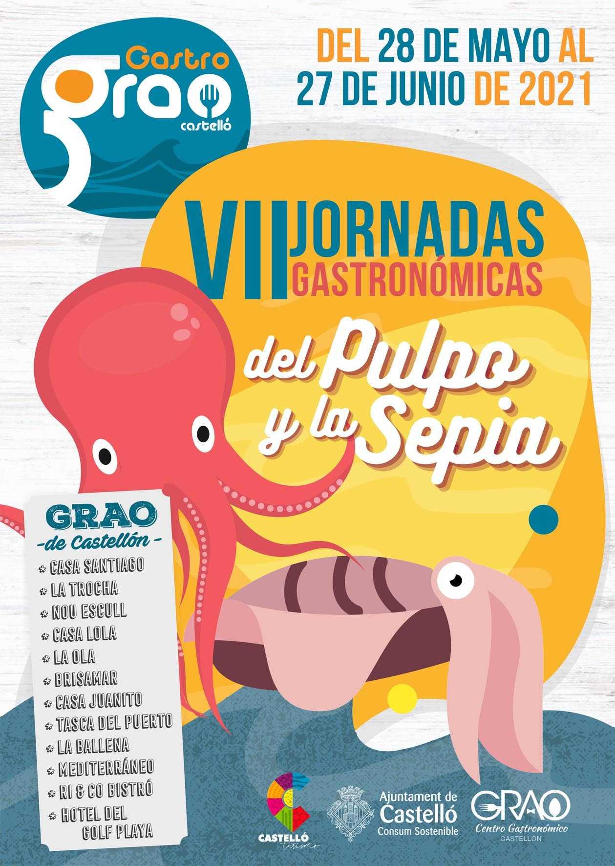 VII Jornadas Gastronómicas del Pulpo y la Sepia